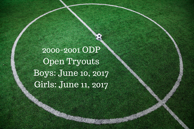 2000-01 ODP Open Tryouts